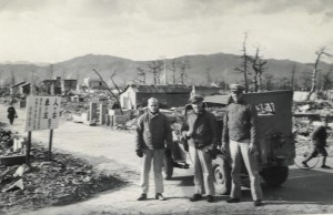 LTJG Charles E. Ahl Jr. + Hiroshima Nov 1945